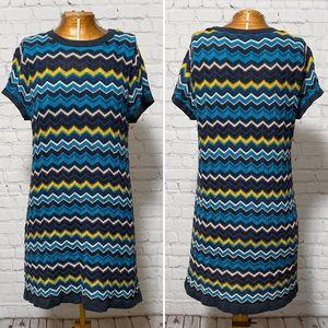Missoni For Target Zig Zag Sweater Dress EUC